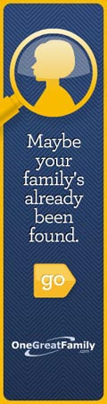 OneGreatFamily FamilyFound (120x450) [advertisement]